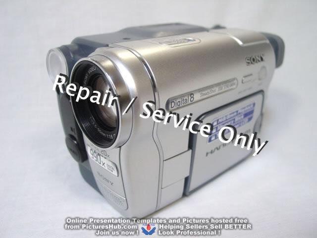 REPAIR / SERVICE of SONY Handycam DCR-TRV460 260 Camcorder (*READ 1st*)