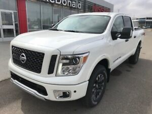 2018 Nissan Titan Pro4x Leather Luxury Package