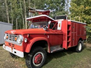 1966 Dodge W500 Power Wagon