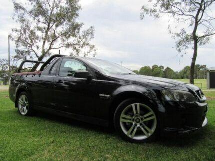 2007 Holden Ute VE SV6 Black 5 Speed Sports Automatic Utility