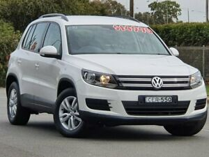 2012 Volkswagen Tiguan 5N MY12.5 103TDI DSG 4MOTION White 7 Speed Sports Automatic Dual Clutch Wagon Wodonga Wodonga Area Preview