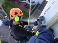 Working at hights (Rope Access)