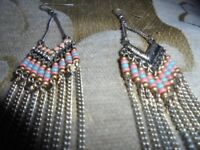 BN - Silver coloured with Beadwork - Excel Cond.