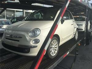 2012 FIAT 500 Lounge-FULL-5 VITESSES - MAGS - CUIR