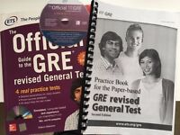GRE Official Guide (book + exercises + CD)