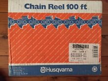 """Husqvarna 100' Spool 3/8""""LP Chainsaw Chain also suit Stihl 3/8""""P Hornsby Heights Hornsby Area Preview"""