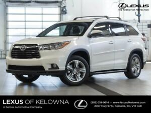2015 Toyota Highlander Limited w/JBL Audio and Navigation