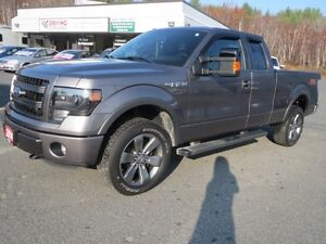 2014 Ford F-150 FX4 4x4 SuperCab 145 in