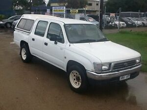 1998 Toyota Hilux RZN149R White 5 Speed Manual Dual Cab Pick-up Hastings Mornington Peninsula Preview
