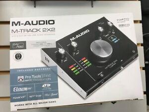 M-Audio M-Track 2x2 interface