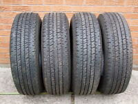 4-235/75R17 M+S HANKOOK DYNAPRO AT ALLSEASON TAKEOFF TIRES These