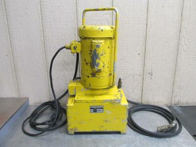 Enerpac Model 10acr Portable Electric Hydraulic Pump 10000 Psi 115v 1 Ph