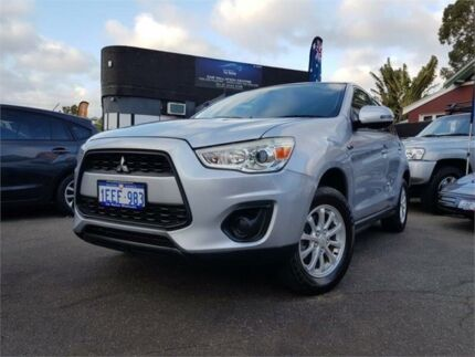 2012 Mitsubishi ASX XA MY12 (2WD) Silver 5 Speed Manual Wagon Mount Hawthorn Vincent Area Preview