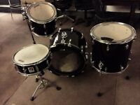 Sonor Force Piano Black Drum Kit