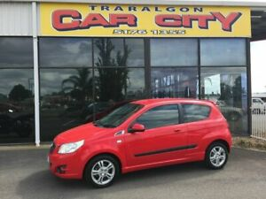 2010 Holden Barina TK MY11 Red 4 Speed Automatic Hatchback Traralgon Latrobe Valley Preview