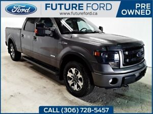 2013 Ford F-150 FX4- LOCAL TRADE IN- SOLD HERE NEW- PST PAID