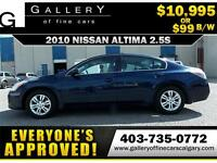 2010 Nissan Altima 2.5S $99 BI-WEEKLY APPLY NOW DRIVE NOW