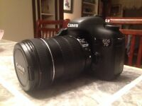Canon 7D body with Canon 18-135mm Lens