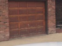 Garage doors 9x7 used