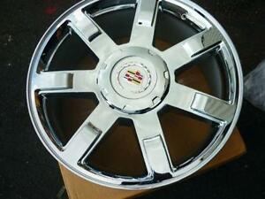 "22"" CADILLAC ESCALADE 7 SPOKE CHROME WHEEL $379!!"