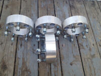 4 ford 2 in wheel spacers 5 x 5.5