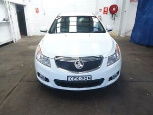 2011 Holden Cruze JH CDX White 5 Speed Manual Sedan Cardiff Lake Macquarie Area Preview