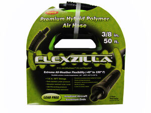 Legacy-Premium-Neon-Green-Flexzilla-Air-Hose-3-8-X-50-300-PSI-Wont-Kink