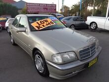 1997 Mercedes-Benz C180 W202 Classic Gold 5 Speed Automatic Sedan Waratah Newcastle Area Preview