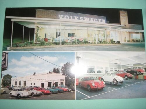 Volkswagen VW car dealer dealership auto 1960