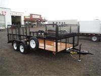 7 x 16 Landscape Trailer by BIG TEX - 7K GVWR, Spare Tire INCL