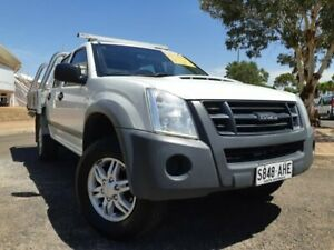2010 Isuzu D-MAX MY09 LS 4x2 White 4 Speed Automatic Utility Gepps Cross Port Adelaide Area Preview
