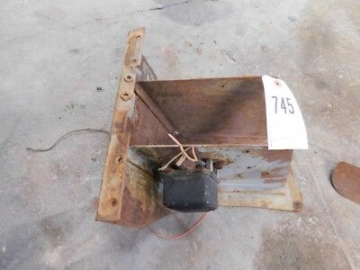 Massey Ferguson 40 Tractor Steer Tower Base Tag 745