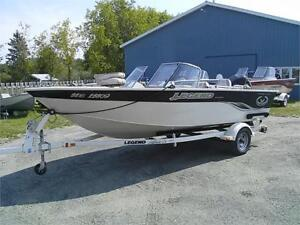 2004 Legend Xcalibur 179 Sport, 115 Optimax and Trailer