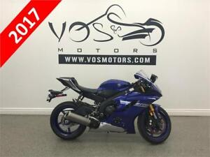 2017 Yamaha YZF-R6 ABS -Stock#V2903-No Payments For 1 Year**