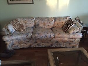 Matching sofa and Love seat as well as other household items