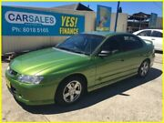 2002 Holden Commodore VY S Green 4 Speed Automatic Sedan Kogarah Rockdale Area Preview