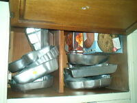 Cake pans and accessories and Chocolate molds