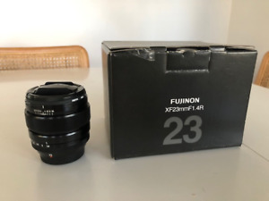 Fuji XF 23mm f1.4 with Hoya filter. mint condition