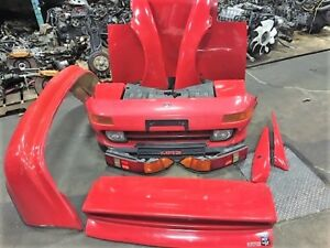 jdm toyota MR2 sw20 front end and trd rear wing and extension