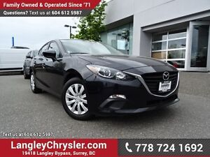 2016 Mazda Mazda3 GX ACCIDENT FREE w/ POWER WINDOWS/LOCKS, RE...
