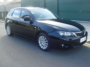 2009 Subaru Impreza G3 MY09 RX AWD Black 5 Speed Manual Hatchback Hampstead Gardens Port Adelaide Area Preview