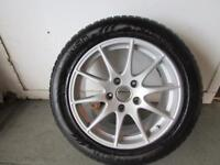 PORSCHE PANAMERA WINTER ALLOY WHEELS & TYRES NEARLY NEW