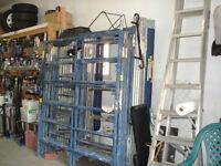 Échafauds/vérins/équerre/braquettes et scafjack pour briqueteur