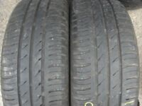 195 50 16 Michelin Energy Saver, XL x2 A Pair, 5.0mm (152-156 Rayne Road,CM7 2QS)