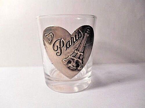 PARIS SOUVENIR SHOT GLASS