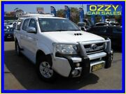 2009 Toyota Hilux KUN26R 08 Upgrade SR5 (4x4) White 5 Speed Manual Dual Cab Pickup Penrith Penrith Area Preview
