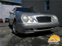 ** 2002 Mercedes-Benz E-Class | AUTOMATIC, LEATHER, SUNROOF, AWD