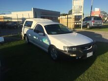 2005 Ford Falcon BF XL Super Cab White Automatic Utility Wangara Wanneroo Area Preview