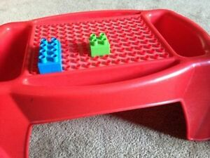 lego blocks chair/table for sale