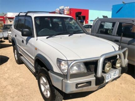 2000 Toyota Landcruiser Prado KZJ95R RV Silver Manual Wagon Hoppers Crossing Wyndham Area Preview